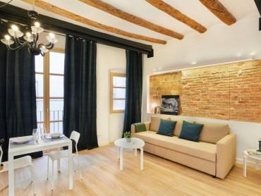 Инвестиционная квартира небольшой площади в Барселоне