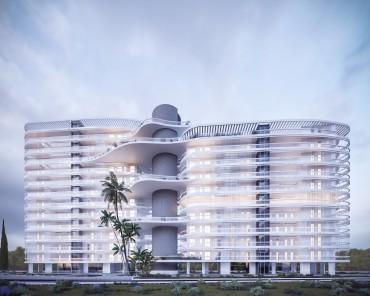 Современный комплекс апартаментов  Habitat  в Ларнаке №1