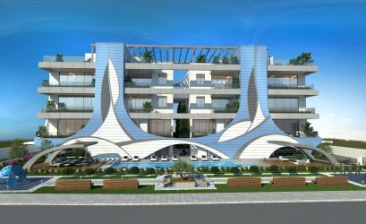 Новый комплекс у Дасуди Парка в Лимассоле