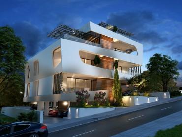 Новый комплекс в зеленой зоне Лимассола