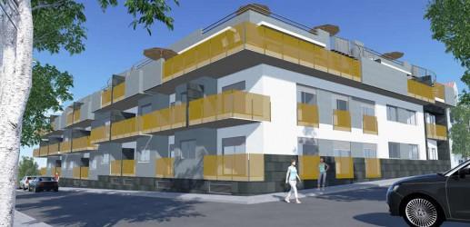 Квартиры в жилом комплексе, 500 метров от пляжей в Торревьехе
